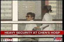 Chinese activist Chen under heavy security at Beijing hospital