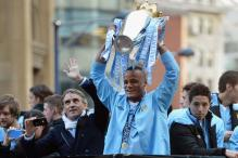 Thousands of fans attend Man City victory parade
