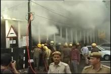 Major fire in PNB at New Delhi's Parliament Street