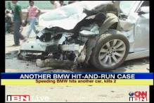 Gurgaon: 2 killed as BMW rams into another car