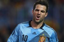 Spain preparations hit, Fabregas to miss 10 days