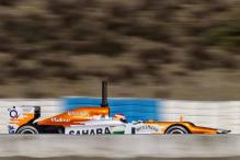 Hydraulic problem for Force India at Mugello