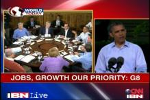 Jobs, growth our priority: G8 Summit