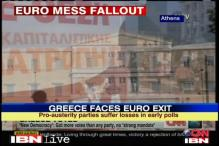 Greeks punish main parties, risk euro exit