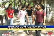 Haryana dept bans jeans, t-shirts for women staff