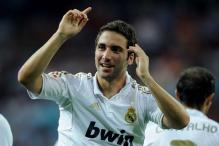 Striker Higuain not for sale, says Mourinho