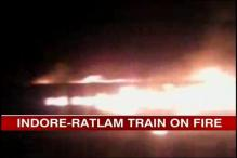 Indore-Ratlam train catches fire, passengers safe