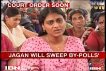 Jagan will sweep the Andhra by-polls, says his sister