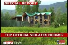 Top J&K official flouts green norms