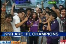 Fans go berserk as KKR lift IPL trophy