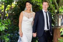 Facebook CEO marries his longtime love