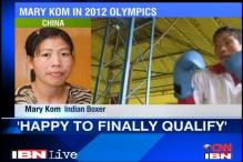 Happy to qualify for the Olympics: Mary Kom