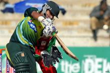Fractured finger rules Jamshed out of SL tour