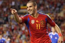 Negredo in Spain's Euro squad, Soldado ignored