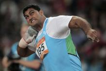Om Prakash shatters shot put national record