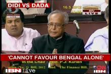 Pranab noncommittal on Bengal package, TMC upset