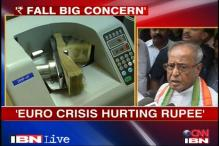 Depreciating rupee matter of great concern: Pranab Mukherjee