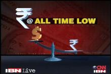 Rupee hits record low; exporter dollar sales eyed