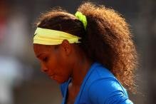 Serena pulls out in Rome with back injury