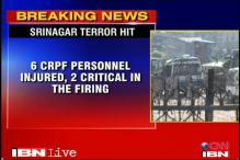 Srinagar: 6 CRPF men injured in militant attack