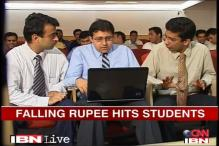 Falling rupee: Pay more to study abroad