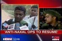 Chhattisgarh: Anti-Naxal operations to resume, says Sukma SP