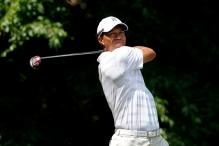 Cink shares Quail Hollow lead, Woods cards 71