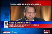 Carriage fee for TV channels must be moderate: TRAI chief