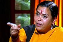 Will gift PM a set of saffron clothes: Uma Bharati