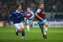 West Ham take lead in play-off semi-final