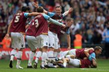 West Ham edge Blackpool to win promotion to EPL