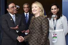Zardari raises trust deficit issue with Hillary