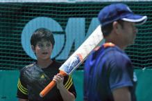 Arjun Tendulkar in MCA's under-14 camp