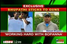 Bhupathi sticks to his guns over Paes pairing