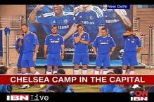 Chelsea train young Indian footballers
