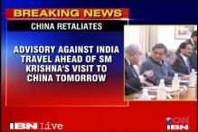 China's tit-for-tat advisory against travelling in India