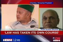 Law has taken its own course: Dhumal on Virbhadra