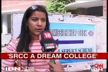 Watch: Students react to DU's first cut-off list