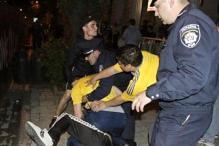 Euro 2012: Ukraine, Russian fans scuffle in Lviv
