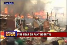 Delhi: Fire in slum near GB Pant Hospital