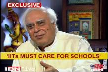 The old IIT entrance test was for the rich: Sibal