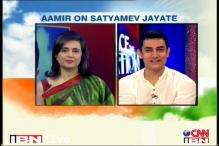 'Satyamev...' can't bring about change: Aamir