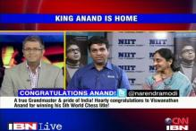 I am satisfied and happy: Viswanathan Anand