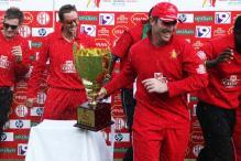 Zim crush SA to win T20 tri-series