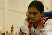 Humpy leads at women's chess meet