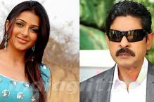 Jagapathi Babu and Bhumika Chawla in 'April Fool'