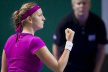 Kvitova takes out Shvedova for French Open semis