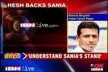 Bhupathi sympathises with Sania on Paes pairing
