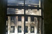Inside the fire ravaged Maharashtra Mantralaya