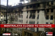 Four days after fire, work resumes at Mantralaya